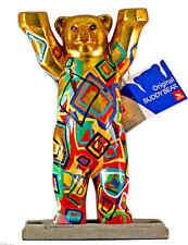 Buddy Bear Berlín golden View nuevo 6cm con caja de regalo souvenir oso dorado