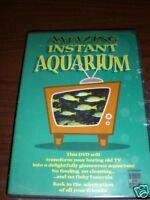 Amazing Instant Aquarium DVD Runs Continuously NEW