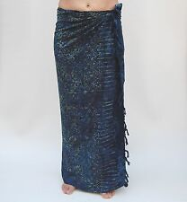 NEW EXTRA LARGE LONG UNISEX PREMIUM QUALITY BLUE GECKO BEACH SARONG BNIP/saL500P