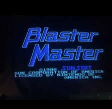 Nintendo Playchoice 10 Blaster Master Cart Pc-10