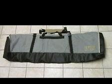 "Burton Snowboards Gray/Black/Green Board Case Bag Travel Luggage 66"""