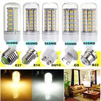E27/E26/E14/E12/B22/GU10/G9 5W 6W 7W 8W LED 5730 5630 SMD Mais Lampada Lampadina