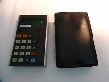 Vintage Calculator Triumph 80c Red Led Numbers 70er Years Pocket Calculator
