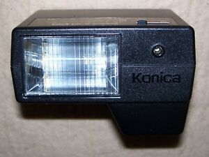 Konica X-24 Auto Shoe Mount Flash w/Case, Used, Great Condition