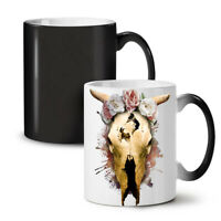 Skeleton Dead NEW Colour Changing Tea Coffee Mug 11 oz | Wellcoda
