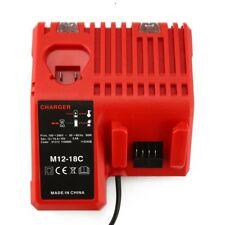Ladegerät für Milwaukee M12-18C for Milwaukee 12-18V 3A Li-ion Batteries TD