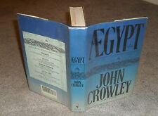 John Crowley - Aegypt - HB/DJ 1st ed 1987 -- Little Big & Beasts author
