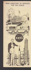 NASA Directory of Services for the Public Brochure 1966