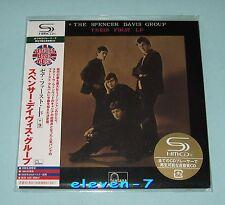 Spencer Davis Group their first LP JAPAN MINI LP CD SHM UICY - 93686 Winwood NEW