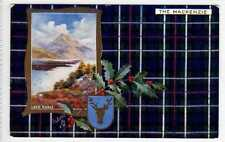 (La7261-100) Scottish Clans, THE MACKENZIE, Unused, c1907, VG Inset Loch Maree