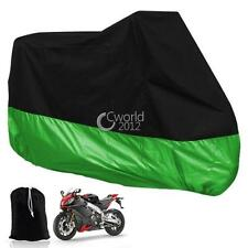 Vulcan 1500 Mean Streak Classic Black/Green Outdoor Motorcycle Cover Q - XL