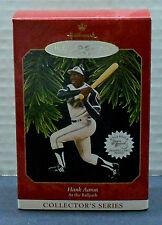 """1997 Hallmark - HANK AARON - #2 Release in """"At the Ballpark"""" Series (MIB)"""