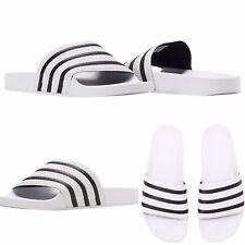 Adidas Originals Adilette Slides ⚪️⚫️280648 White/Black ⚪️⚫️Size 11