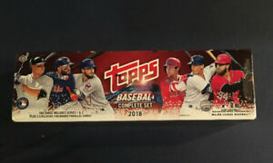 2018 TOPPS Baseball Complete Factory Set Hobby 5 foil ronald Acuna rc Torres MT