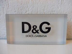 Beau Présentoir Publicitaire__ Dolce & Gabbana __Plexiglas-Block __