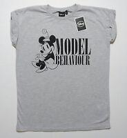 Disney MINNIE MOUSE Model Behaviour  Ladies Top T shirt  Primark UK 6,8,10,12