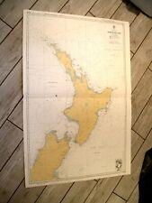 Vintage Admiralty Chart NZ23 NEW ZEALAND - NORTH ISLAND 1978 edn