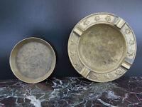 cendriers laiton art nouveau art-déco CURIOSITY by PN