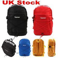 """Unisex Waterproof 17"""" Men's Supreme Backpack Large Laptop School Bags Rucksack"""