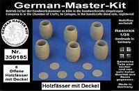 Diorama Zubehör Resin Kit Holz und Blechfässer Varianten 1, Resin, 1:35, Diorama