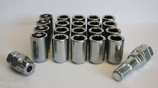 16 X M12 X 1.5 TUNER ALLOY WHEEL NUTS & LOCKING FIT VOLVO S40 S90 V50 V90