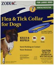 Dog Dogs Puppy Flea & Tick Collar 7 Months Control Protectiction Water Resistant