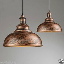 Antique Gold Shade Pendant Light Industrial Vintage Style Ceiling Lamp No231 1 Light(without Bulb)