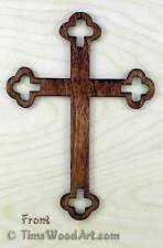 Apostles' Cross, Budded Cross , for Wall Hanging or Ornament, Item S4-10