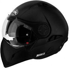 Casco helmet CROSSOVER DOPPIA OMOLOGAZIONE P/J airoh j106 nero opaco taglia m