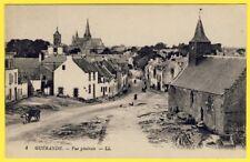 cpa 44 - GUÉRANDE (Loire Atlantique) Vue Générale du Village Fortifié