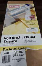 Velux ZTR 010 Rigid Tunnel Extension Sun Tunnel Skylight 10 inch x 24 inch