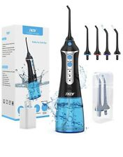 Cordless Water Flosser Oral Irrigator 3 Mode Teeth Cleaner 4 Jet Tips IPX7