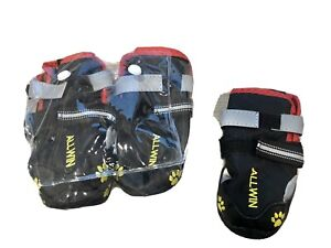 BRAND NEW NEVER USED Snow & Waterproof Booties for Dogs Non Slip Sole -Size 5(S)