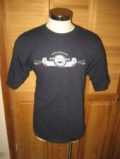 White River Adventure Canoe Navy Blue T Shirt XL NWOT