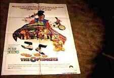 "OPTIMISTS ""A""  ORIG MOVIE POSTER 1973 PETER SELLERS"
