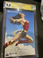 DCC Wonder Woman #766 - CGC 9.8 - signed Joshua Middleton