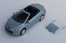 Norev 3 inches 1/60. Peugeot 308 cc bleu  Neuf en boite