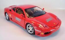 Bburago 1/18 Ferrari 360 Modena (1999) Linel tex publicitaires modèle #2091