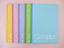 Kokuyo Campus Notebook B5 Size 5 Books 30 Sheets 35 Lines 6mm Ruled Dot Japan