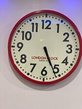 London Clock Fire house Wall Clock. 01088