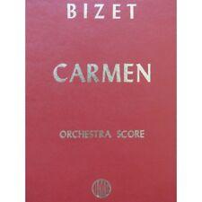 BIZET Georges Carmen Opéra Chant Orchestre partition sheet music score
