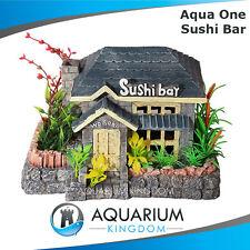 #36722 Aqua One Sushi Bar - Aquarium Ornament -fish Tank Decoration Plants House