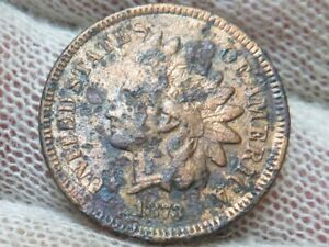 1873 Indian Head Cent Penny