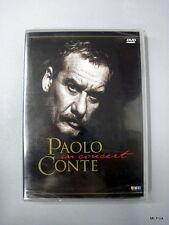 PAOLO CONTE IN CONCERT Concerto Dvd Video U.k Edition Edizione Inglese New Raro