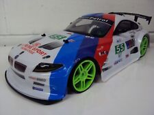 LARGE BMW Z4 4WD DRIFT RC REMOTE CONTROL CAR 1/10 RECHARGEABLE FAST 20MPH SPEED