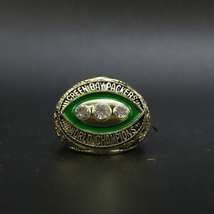 Bart Starr - Green Bay Packers 1967 Super Bowl Championship Ring With Wooden Box