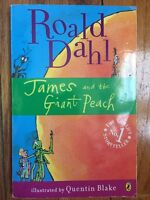 James and the Giant Peach by Roald Dahl (2007, Paperback)
