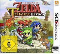 The Legend of Zelda: TriForce Heroes - Nintendo 3DS Game