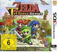 The Legend of Zelda: Triforce Heroes-Nintendo 3 DS GAME