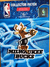 "Nba Milwaukee Bucks Hardwood Classic Logo Iron or Sew On Patch Sm 3"" by 3"""
